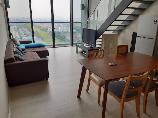 Minimalism & comfy stay(2+1) @ The Square USJ25