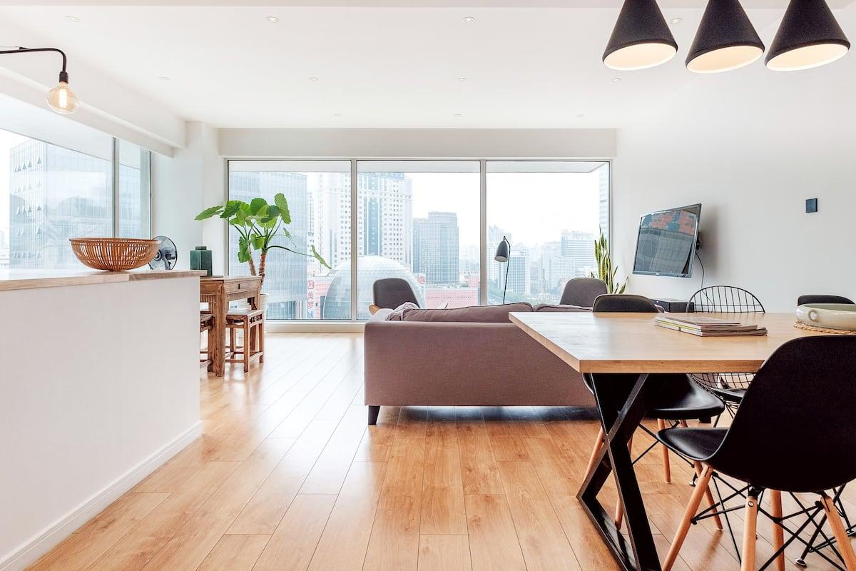 Apartment with Amazing Views in Xujiahui