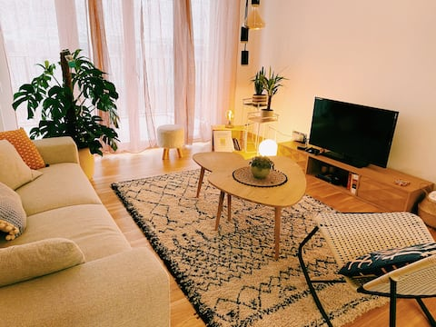Nice modern & cosy flat in the center of Lausanne