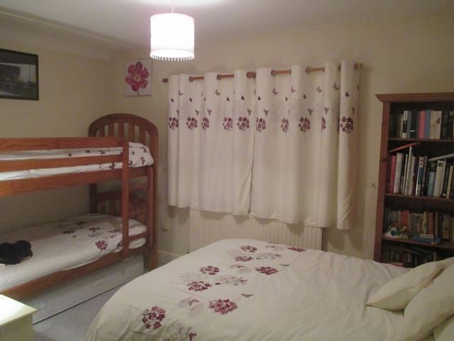 Family Room - 1 Double + Bunk Beds