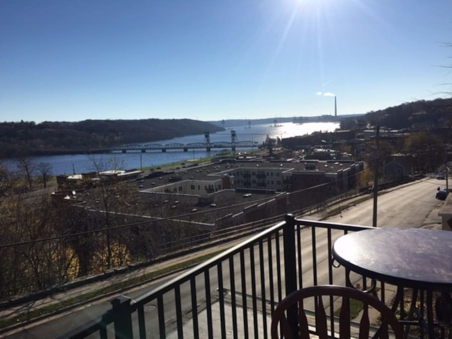 One of the Best views in Stillwater... outside of the upstairs master bedroom