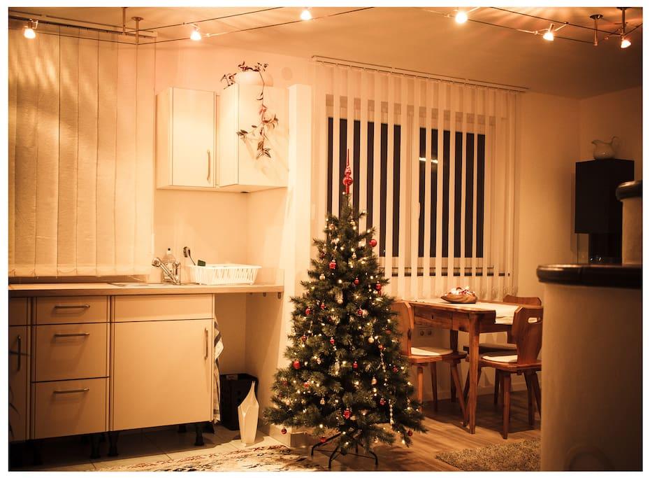 Around Christmas time