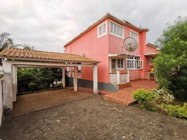Beautiful house near the beach in Sao Tome