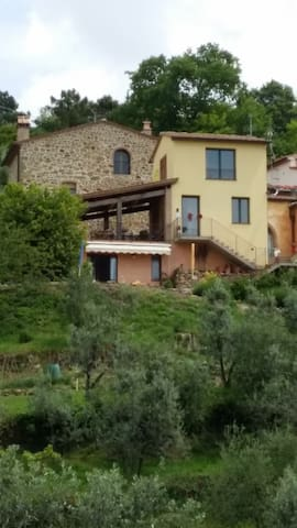 Casolare nella campagna di Vinci. Stanza Paglia - Vinci - Wohnung