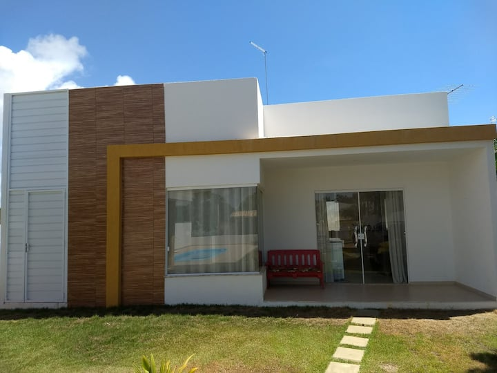 beach house with swiming pool in barra do Jacuípe