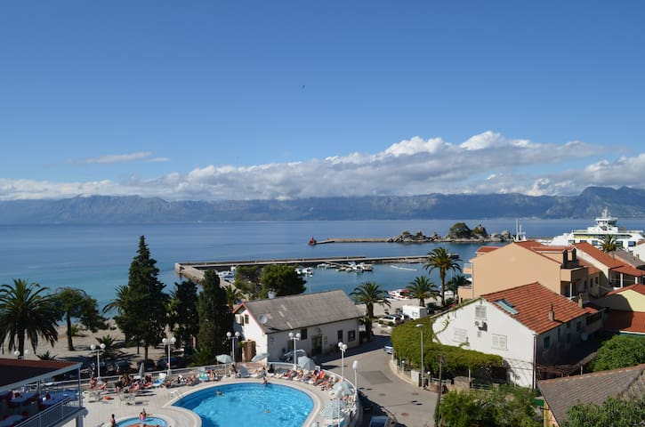 Apartment PANORAMA 1  beautiful view of the sea - Trpanj - Byt