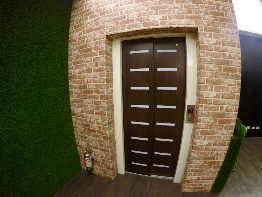 elevator in the house