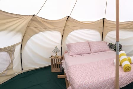 Glamping at its best! Spacious luxury tent