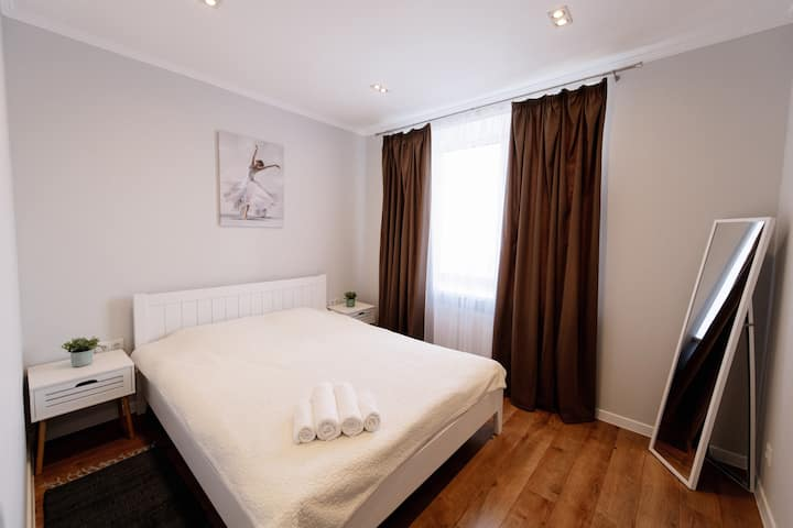 Comfortable and quiet apartment in the city center