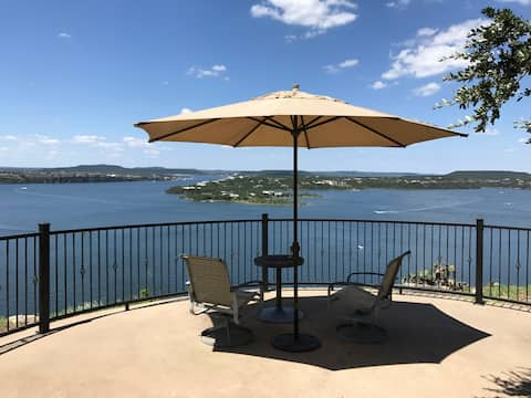 Stunning Home w/ Cliff View on Possum Kingdom Lake