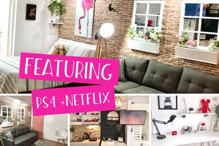 Nordic Soleil - 33.5 SQM -Netflix+ PS4 + Free Pool
