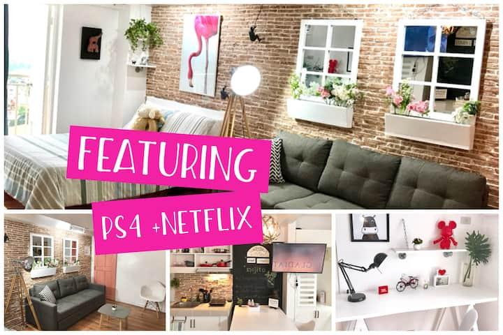 Nordic Soleil - 33.5 SQM -Netflix+ PS4