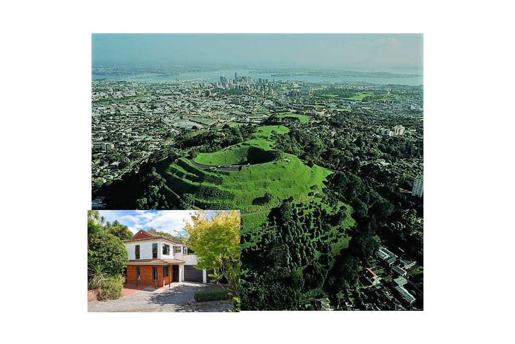 Mount Eden affords the best views of the whole of the Auckland region, the City, Sky Tower, the volcanic islands and much more. It's well worth the climb.