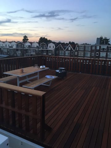 Nice appartment with a rooftop around 40m2 - Rotterdam - Appartement