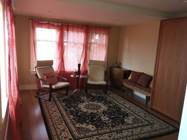 Big private 1BR/BA close to Light Rail & downtown - Seattle - Casa