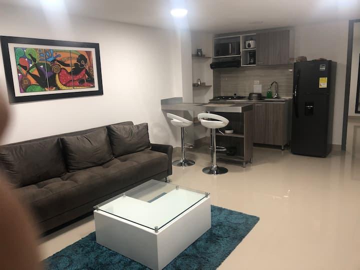 Hermoso apartamento  por días moderno y económico