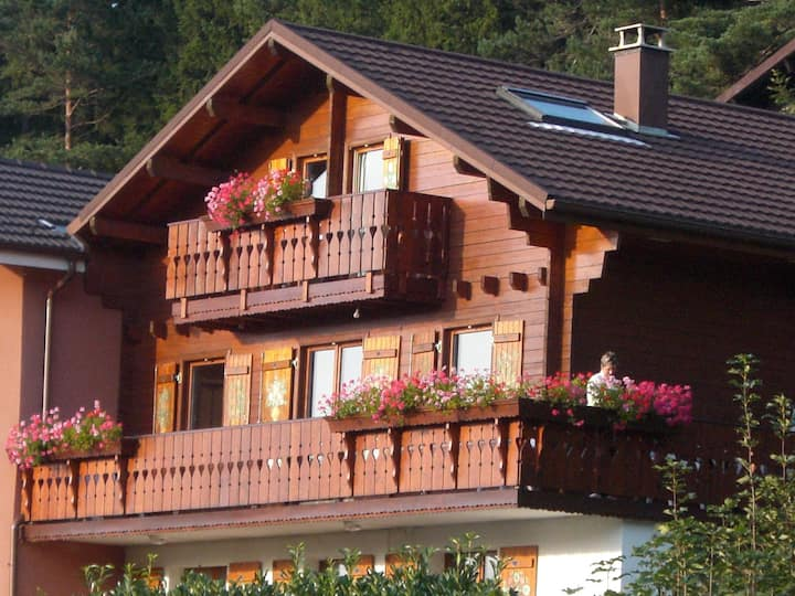"""Independent """"MAYA"""" apartment in chalet. Top view!"""