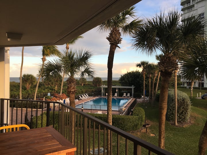 Beach Front Living (60 Day Minimum Stay Required)