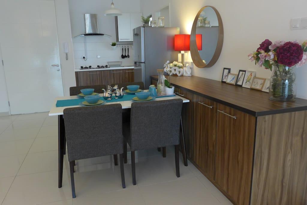 Luxury dining area