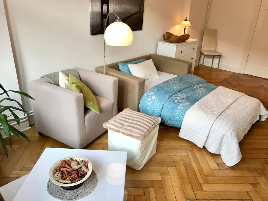 Comfy Bed & Couch Chair