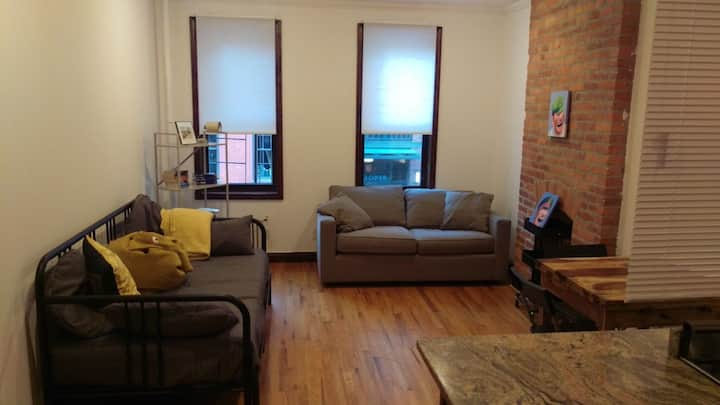Charming and Bright 1 bdr apartment in Noho
