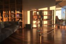 Upper level living area!