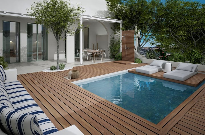 Master Suite Garden View with Private Pool