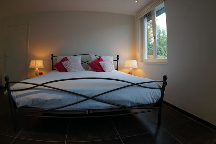 Double bedroom on the ground floor