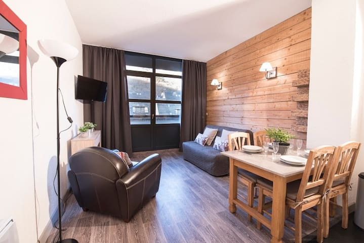 LOCATION APPARTEMENT SAINT LARY SOULAN/ TYPE 2 /4 PERS/QUARTIER THERMAL