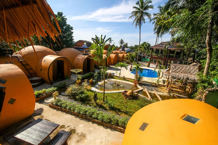 Krabi Life Homestay Room 1 - Klong Phon - Iglú