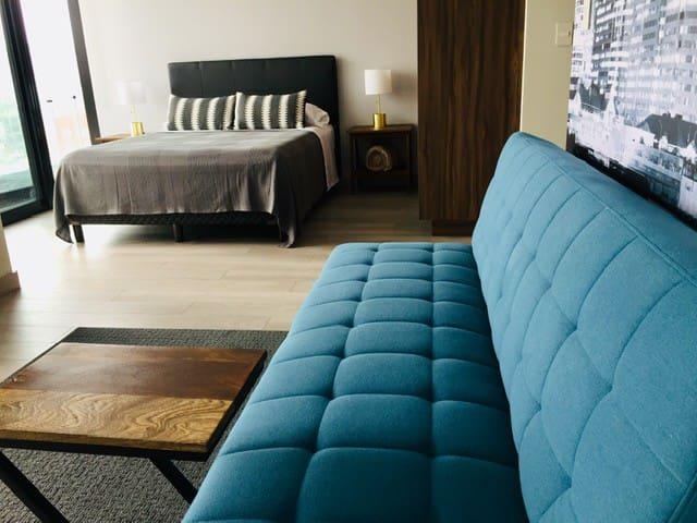 Loft Style Condo with Stunning View of Tijuana