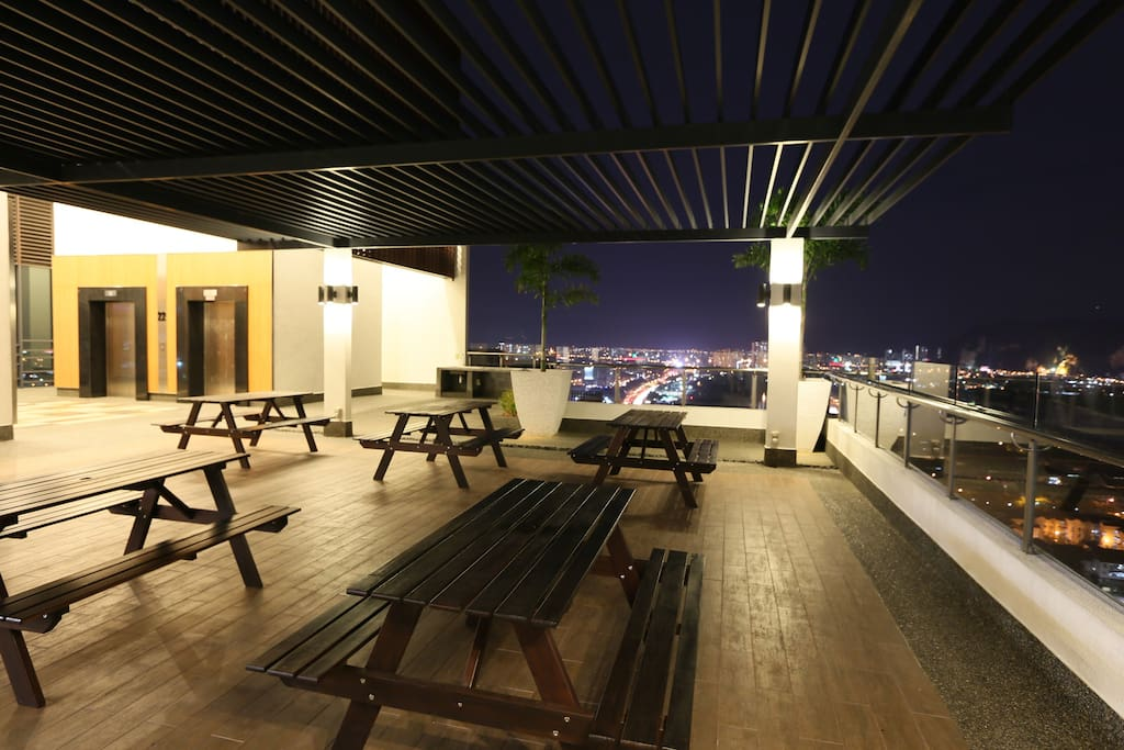 BBQ Deck and chill out place