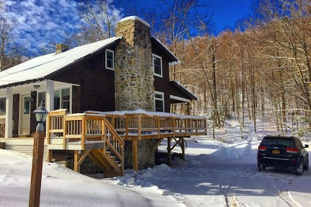 Rustic Stones-Mount Snow/Stratton - Stratton - Rumah
