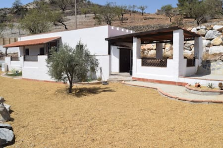 One bedroom cottage on 2 acre finca near village - Lubrín