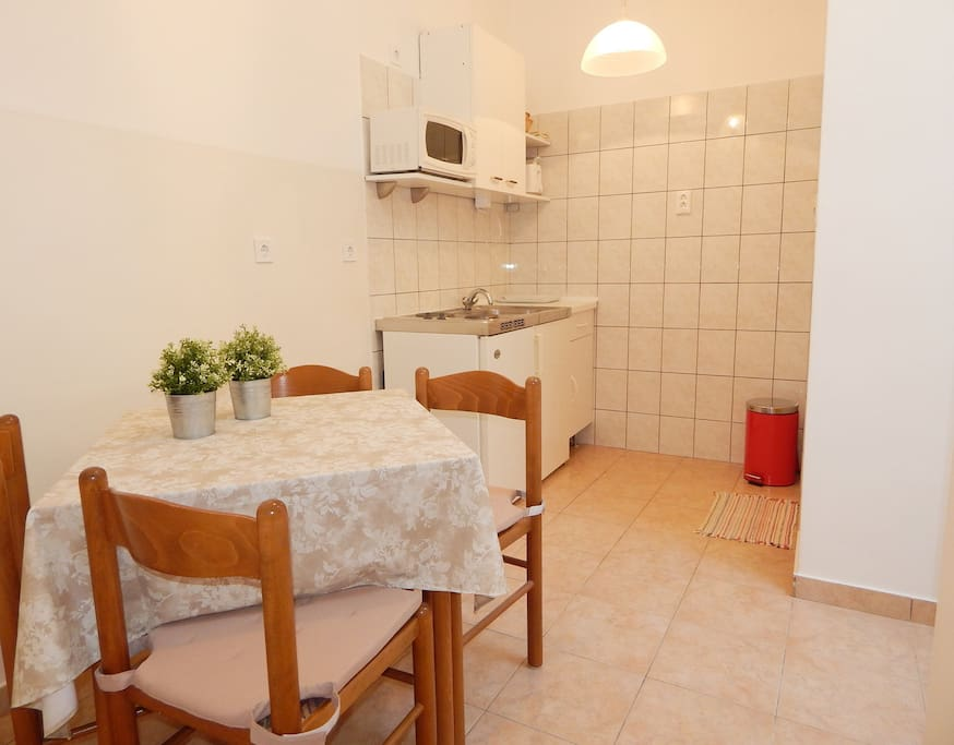 Kitcen with dining area