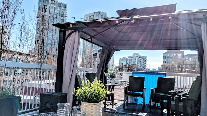 Heart of Yaletown, Massive Roof-top, Parking