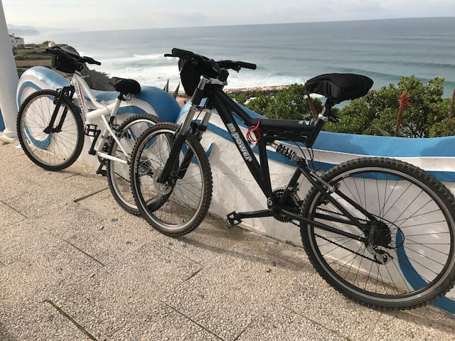 Tenho disponível para aluguer.  If you want to rent...  just ask it! I have 2 bicycles available.
