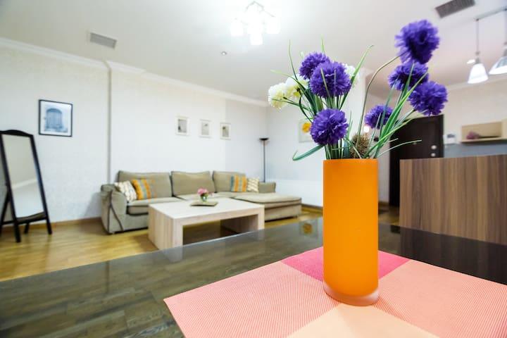 Уютные 3- комнатые аппартаменты в Сердце Города