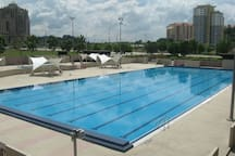 Nearby: Putrajaya Public Swimming Pool (pic from Google Image)