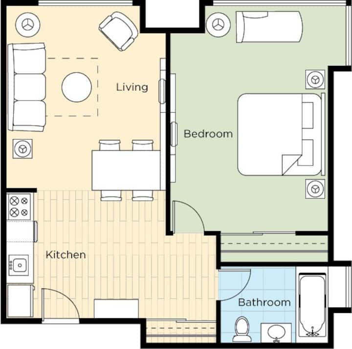 1BR-New Year's Weekend 4 days Holiday at Wyndham