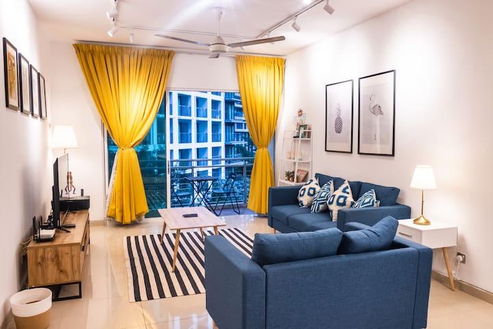 #4 SOLO Room @HUT Co-Living KLCC 2   500 Mbps WiFi