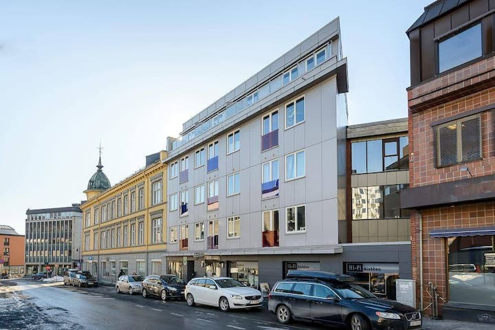 New and central apartment - Lillehammer - Byt