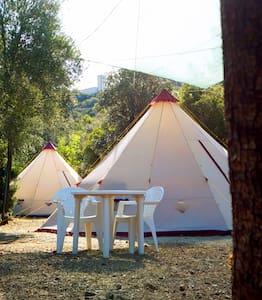 Tesonis tenda  con accesso sul mare - Tertenia