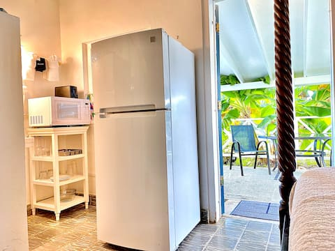 Cottage*Private Patio*Oceanside*Free Bike Rental
