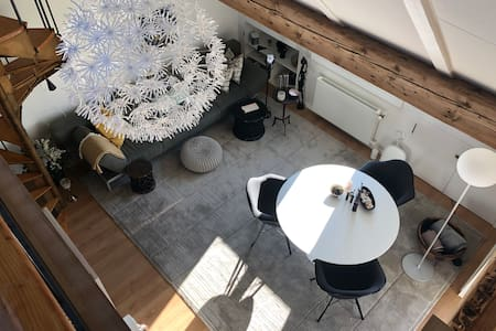 Central brand new apartment over the roofs of Bern