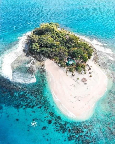 Exklusiv privat ö + Brother Island, El Nido