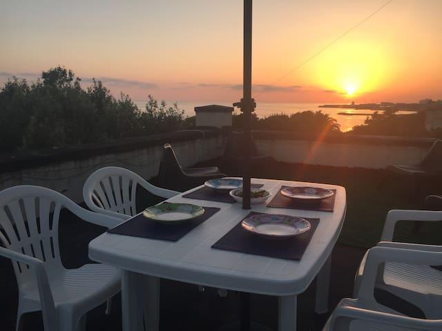 appartamento in villa sul mare a Civitavecchia