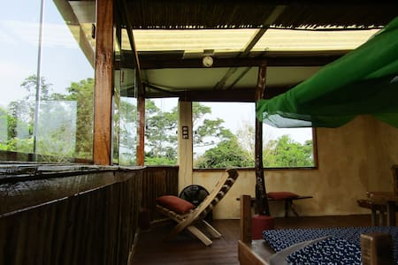 Casa Corteza (COTINGA) lovely nature cabin