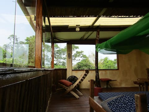 Nature cabin (COTINGA) in Casa CORTEZA at Veracruz