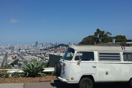 Classic VW Bus - San Francisco - Camper/RV